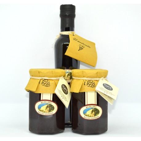 Box Scrucchiata Abruzzese (confettura d'uva) e Mosto Cotto