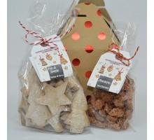 Confezione natalizia 2 dolcetti