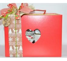 Confezione box natalizio