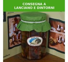 Olive nere denocciolate e condite