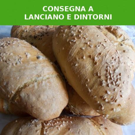 Pane con semi biologici