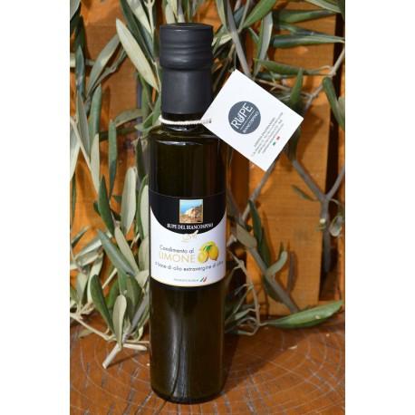 Condimento a base di olio extra vergine di oliva e limoni