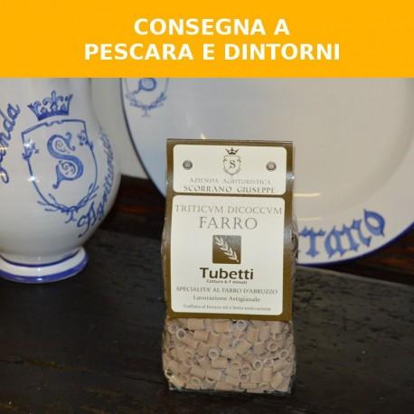 Tubetti al farro d'Abruzzo