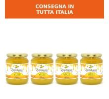 Box Miele di Arancio 500g - Confezione da 4 barattoli