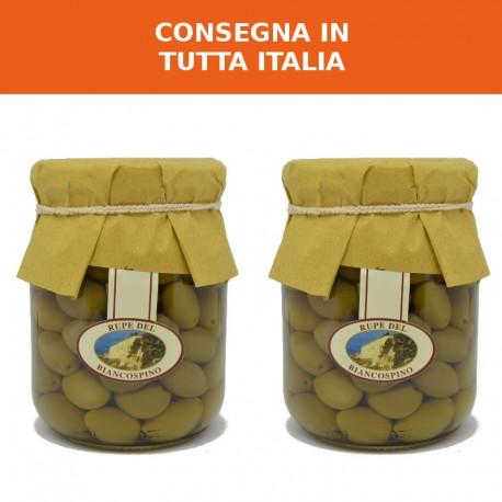 Olive intosso al naturale