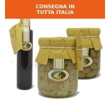 Cardone, olive intosso e mosto cotto
