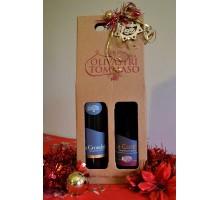 Confezione Regalo Natalizia due bottiglie Montepulciano d'Abruzzo