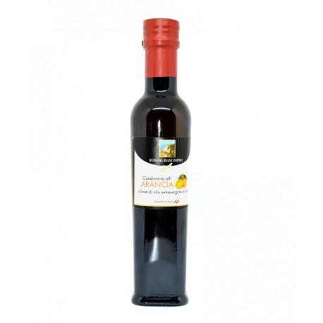 Condimento all'arancia a base di olio EVO - X4