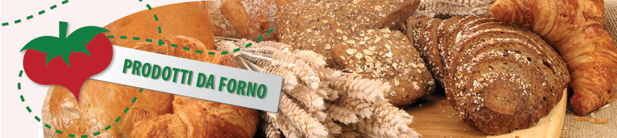 I prodotti da forno per la tua spesa online di pane e dolci