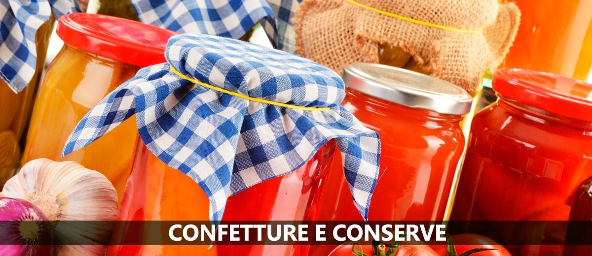 Confetture e conserve online direttamente dal produttore