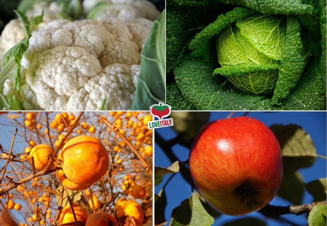 Frutta e verdura di Novembre | La spesa di stagione